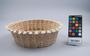 361091 iep, coconut palm leaf midrib basket