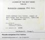 Piccolia conspersa (Fée) Hafellner, Trinidad And Tobago, H. A. Imshaug 31694, F