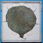 111571.A metal; bronze mirror