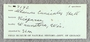 IMLS Silurian Reef Digitization Project, Image of label for a Silurian  trilobite, specimen P 9192