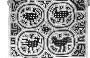190350: Mola Cotton applique textile