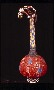 174366: Beaded calabash with stopper