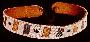172705: Dance belt, beads on leather