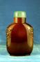 232198: snuff bottle amber, jade