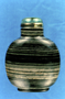 232237: snuff bottle marble, glass