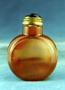 232280: snuff bottle carnelian