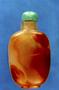 232281: snuff bottle carnelian, jade