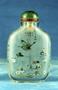 232403: snuff bottle glass, pigment
