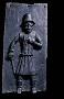210353: plaque bronze