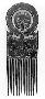 221468: twelve-tined comb ornamental