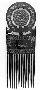 221468: Comb ornamental