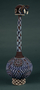 174367: Beaded gourd calabash
