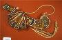 242143: bead, cloth, rope ceremonial