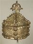 271802: beads, cloth crown