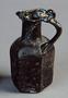 158616: glass flagon