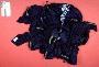 221417: raffia, cotton, dye, strip and
