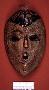 242161: wood, pigment Egungun mask