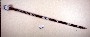 266782: wood, beads, cotton staff
