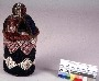 271785: beads, cloth shrine box