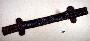 271793: leather, cloth, beads sheath