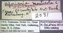 2031 Aporiaria monticola HT IN labels