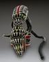 174144: Leopard crest headdress cloth