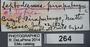 264 Leptodesmus piraputangus ST IN labels