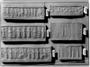 156668: Impression of basalt cylinder