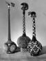 174368: Gourd, beads, cowrie shells