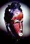 210036: mask for god wood, paint Goli