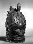 210166: Carved helmet mask initiation