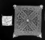 128786: Piece of white hemp cloth for a