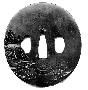 130606: verify neg# Shakudo Tsuba
