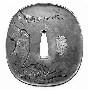 130651: Ox Tsuba sword guard 18th