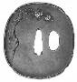130652: Tsuba sword guard 19th century
