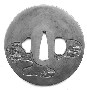 130654: Bell Tsuba sword guard 19th