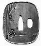130663: 19th century Tsuba sword guard