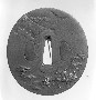 130791: Tsuba sword guard 18th century