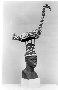 174131: Bird figure, beaded headdress