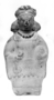 188599: Pottery whistle figurine, woman