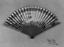 126102: folding paper fan with 36 ivory