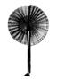 104941: cloth, yarn fan