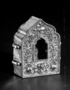 123579: Small embossed silver charm-box