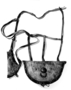 123607: Leather belt attached to which