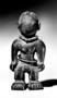 221286: Wood twin figure sculpture