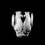 182191: grey jade ox-head