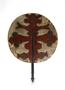 210290: Elephant figure Fan made of