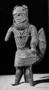 210294: Bronze Figure cast on rod