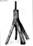 128562: hemp bark, resin torch holder