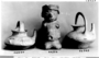 96336: figure vase pottery
